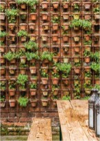 Awesome Vertical Garden With Pot