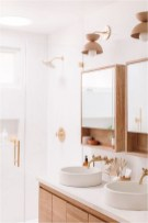 Bathroom With Wood Accent