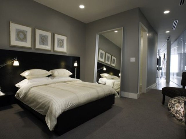 Classic Masculine for Men's Bedroom Design with Contemporary Masculine Style