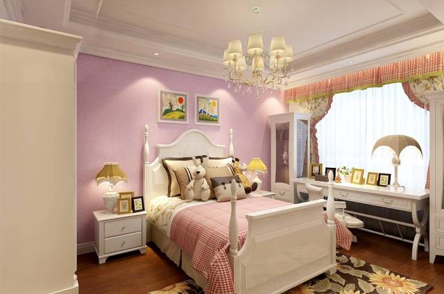 Classic for Girls' Bedroom with Fairytale Theme