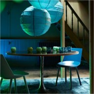 Dining Table With Lantern Ideas