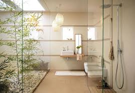 Hanging Lamp for Stunning Lighting in Modern Minimalist Bathroom