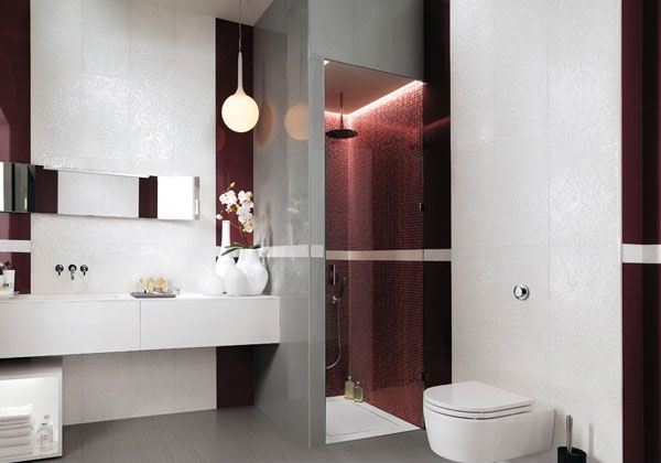 Light on The Wall Side for Stunning Lighting in Modern Minimalist Bathroom