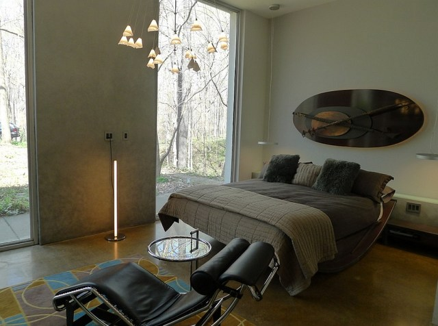 Neutral for Men's Bedroom Design with Contemporary Masculine Style