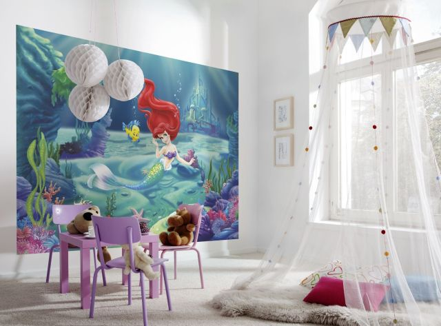 The Maximum Princess Effect for Girls' Bedroom with Fairytale Theme