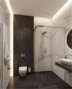 White LED Light Bathroom Ideas