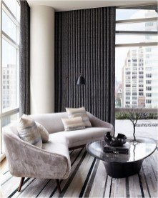 Black Modern Living Room