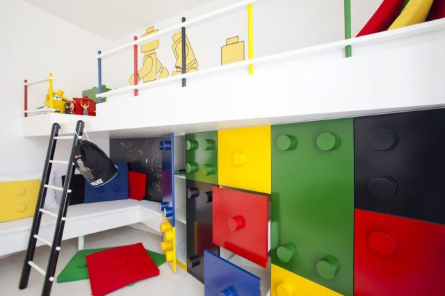 Lego for Various Unique Designs for Boys' Bedrooms