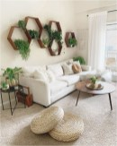 Living Room With Plant Decorations