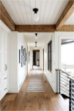 Wood Combinations Ceiling Farmhouse Ideas