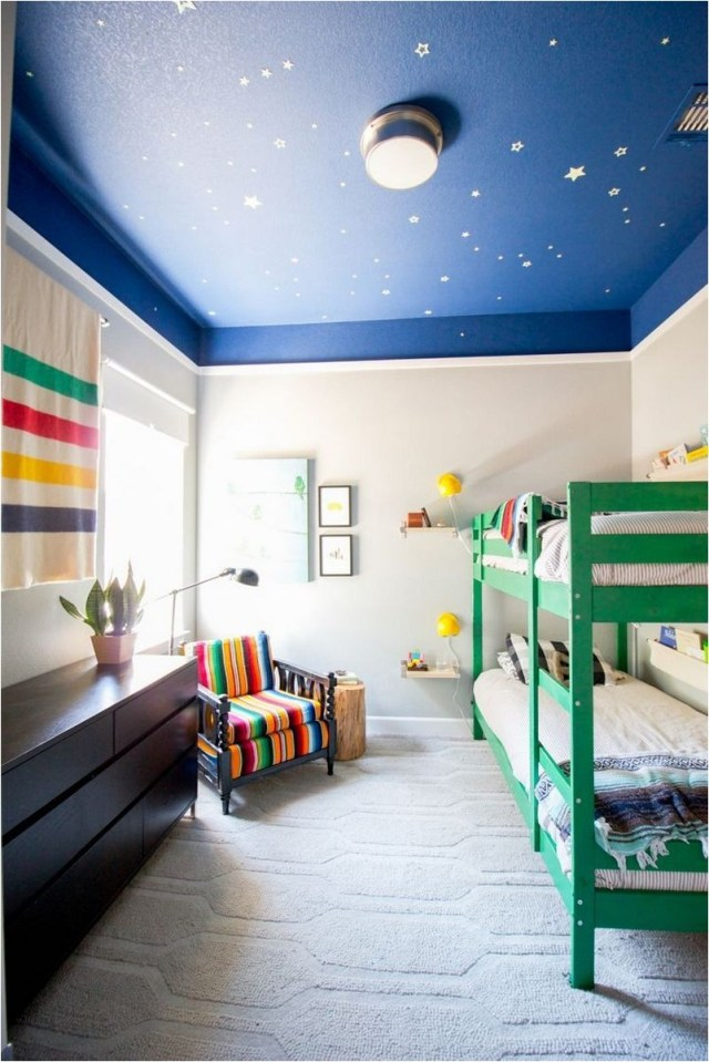 Blue And Green Color Bedroom Ideas