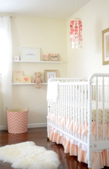 Coral Nursery Images On Pinterest Baby Girl Room Decor