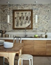 Kitchen Design Ideas With Stone Walls