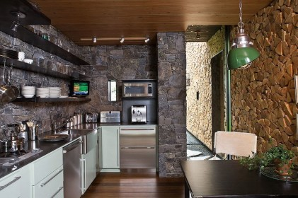 Marvelous Kitchen Design Ideas Wall Stone