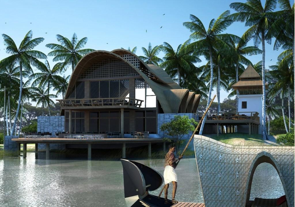 Kumarakom Resort, Kerala - Morphogenesis Architects