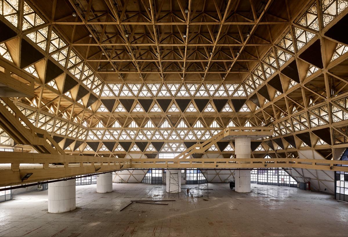 Hall of Nations, New Delhi, 1972 Architect: Raj Rewal Engineer: Mahendra Raj