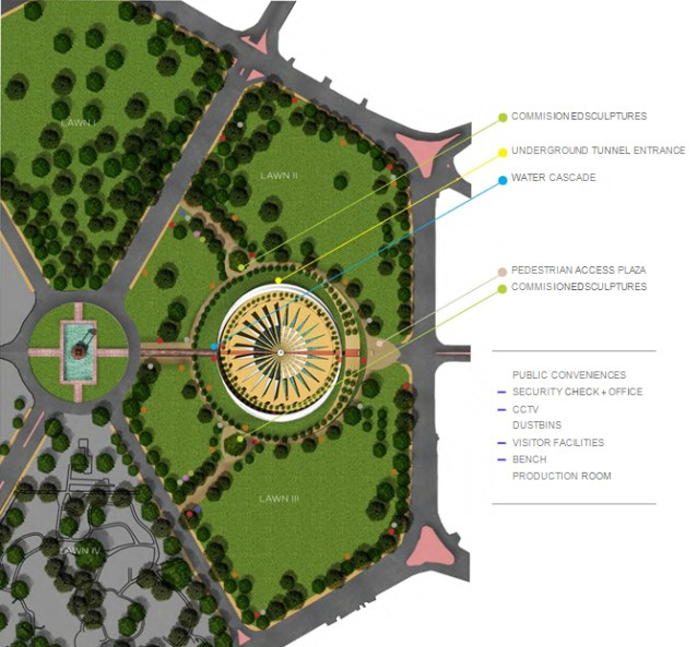 National War Memorial - Anagram Architects