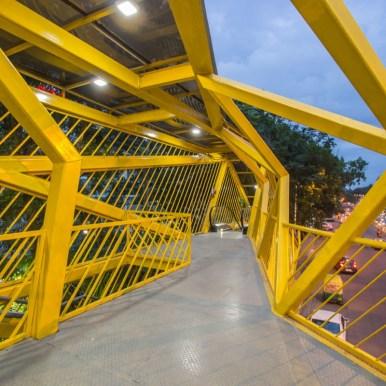 Forum Mall Foot Over Bridge-Bangalore - MayaPraxis