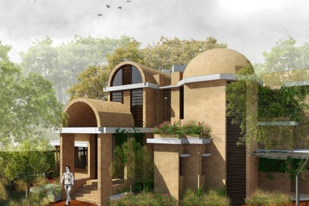Wondrous The Vault House At Noida By Chaukor Studio Architecturelive Download Free Architecture Designs Intelgarnamadebymaigaardcom