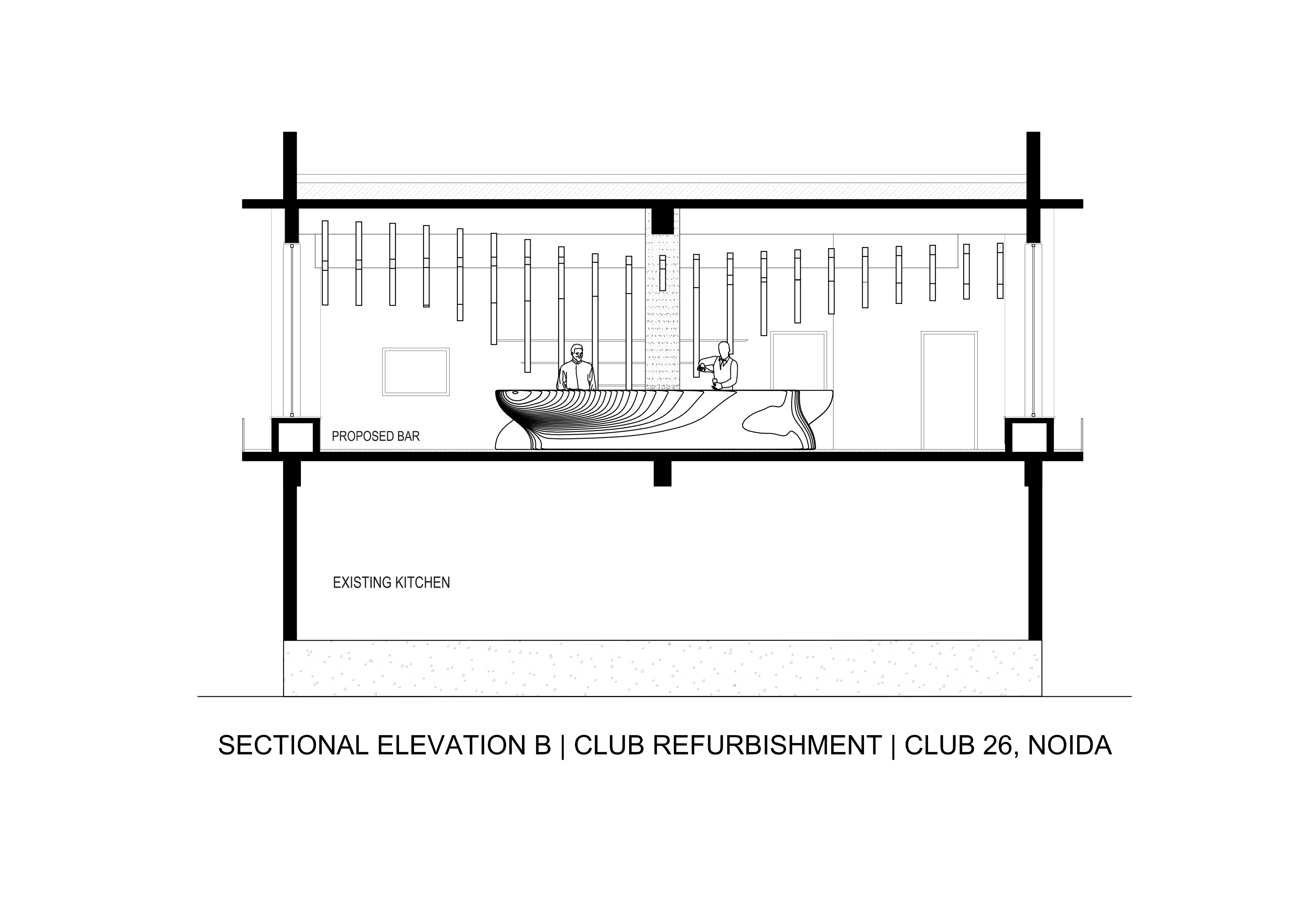 Club 26 NOIDA, Abhishek Bij, Design Plus