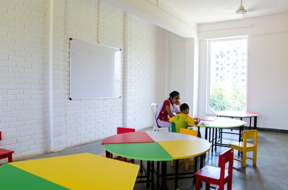 Aditya International Kinder Garten School - M + P Architects, Pune