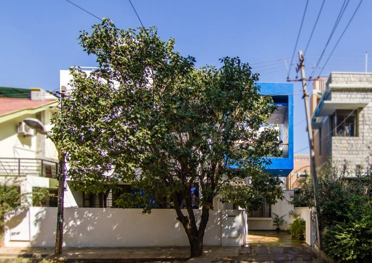 CUBE SQUARE - A MODERN TREE HOUSE, at Bengaluru, by Collage Architecture Studio 1