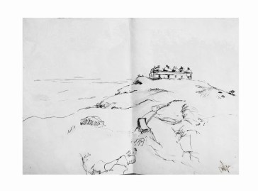Travel Sketches by Nipun Prabhakar