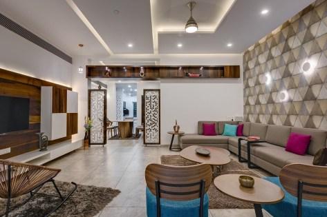 Mahesh Pawde Residence - 4th Axis Design Studio