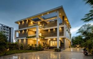 Santuk Hambarde House - 4th Axis Design Studio