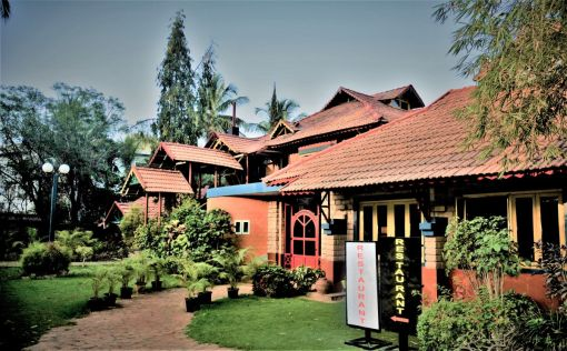 Village Resort at Mysore, by B S Bhooshan