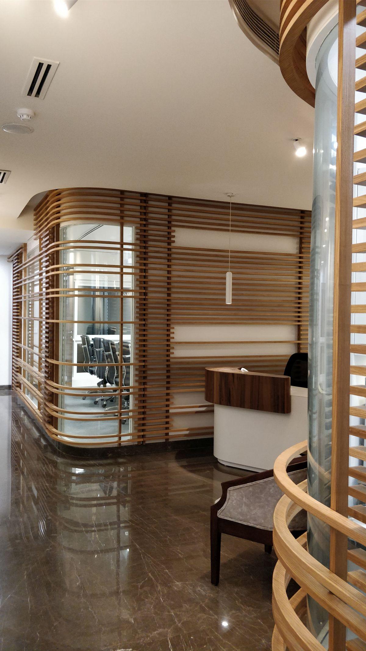 Interior Design: Panalfa Automotives - Head Office at New Delhi by Forum Architecture 21