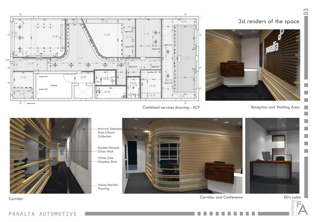 Interior Design: Panalfa Automotives - Head Office at New Delhi by Forum Architecture 1