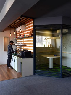 Grey Office at New Delhi by Orangewood Labs