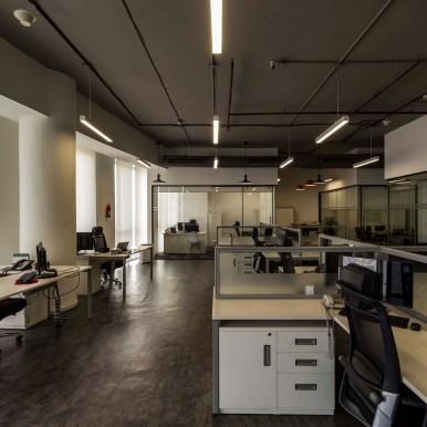 NGK Office at Gurugram by NCUBE Design
