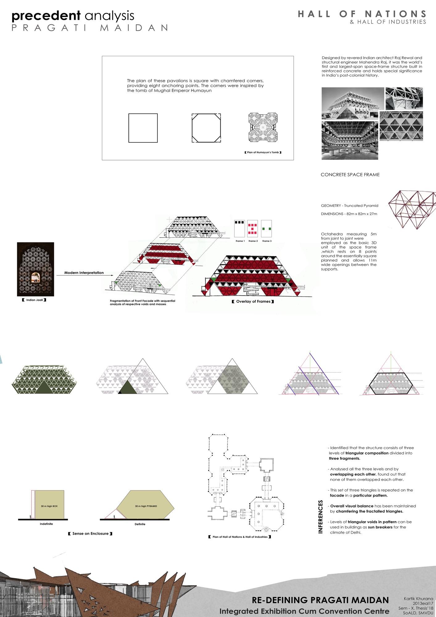 B.Arch Thesis: Redefining Pragati Maidan, International Convention Cum Exhibition Centre, by Kartik Khurana 3