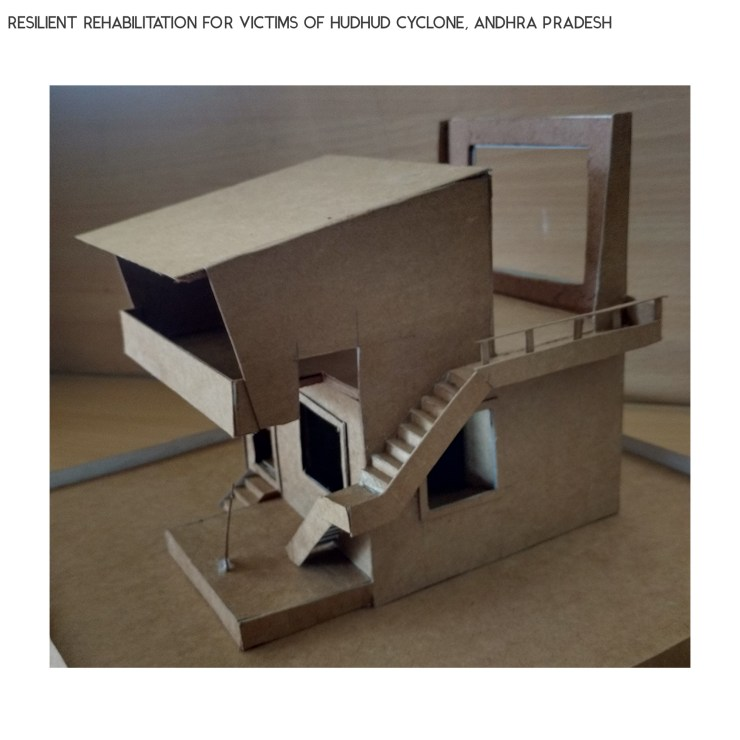 B.Arch Thesis: RESILIENT REHABILITATION FOR VICTIMS OF HUDHUD CYCLONE, ANDHRA PRADESH, by Sanand Telang 65