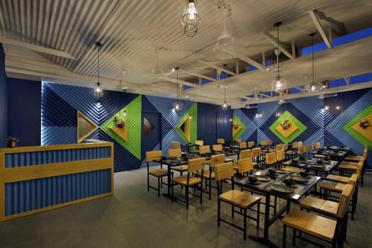 Keshav Kutir Restaurant at Vadodara, by Manoj Patel Design Studio 253