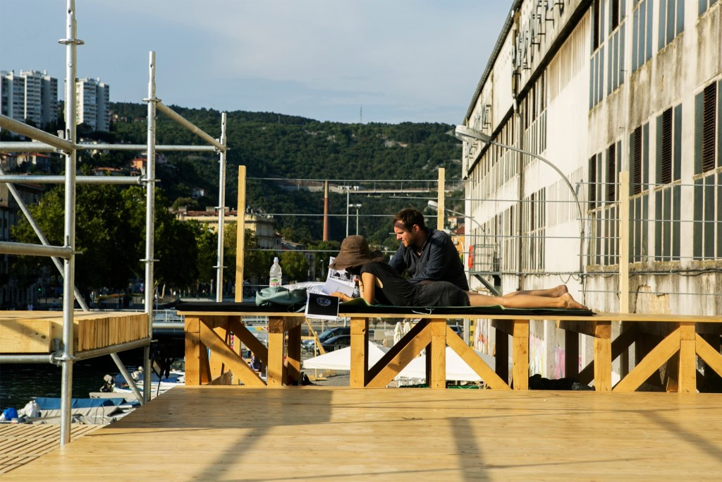 Level Up - An outdoor multi level social space at EASA Croatia, 2018 140