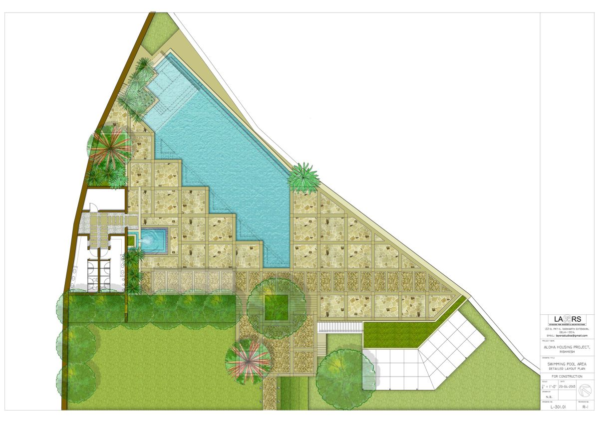 Aloha on the Ganges - Layers Studios for Architecture and Design
