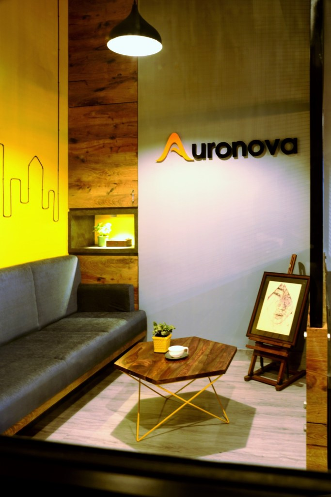 YELLOW IS THE NEW BLACK, Auronova Office at Mumbai - by THE DESIGN CHAPEL 11
