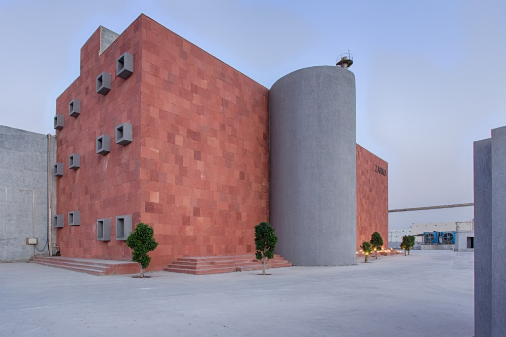 Zarko, office for ceramic tile manufacturing company at Morbi, Gujarat, by Bridge Studio 7