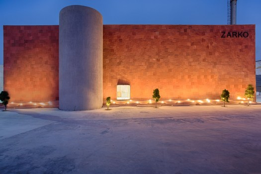 Zarko, office for ceramic tile manufacturing company at Morbi, Gujarat, by Bridge Studio 200