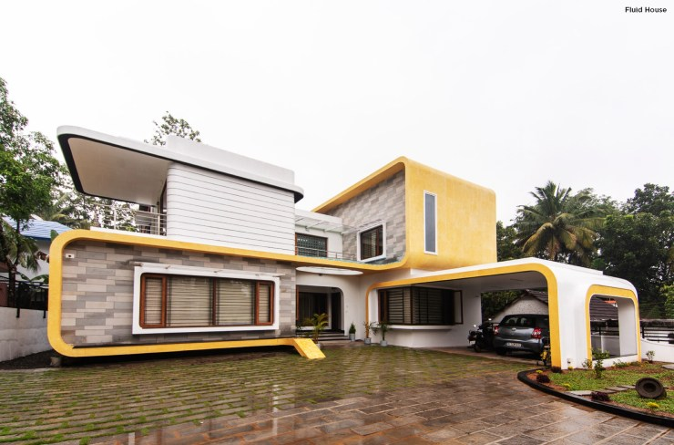 Residence for Dr. Gerald and Anila at Kottayam designed by MySpace Architects
