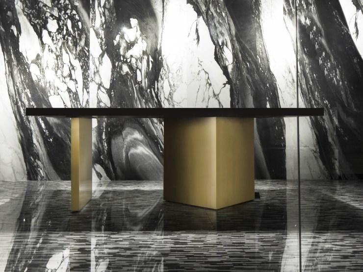 MOFA Studio creates a theatrical monochromatic space for a tile showroom in Gurgaon 24