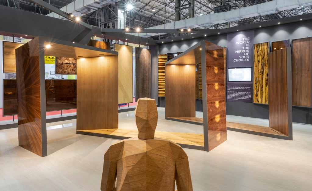 Exhibition Space at ACETECH, for Legend Ply and Veneers, by Spaces Architects @ka 11