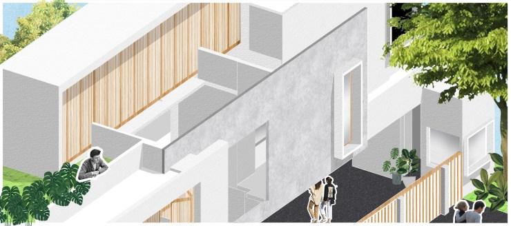 Casa Forma at Haldwani, Uttarakhand, byRenesa Architecture Design Interiors 14