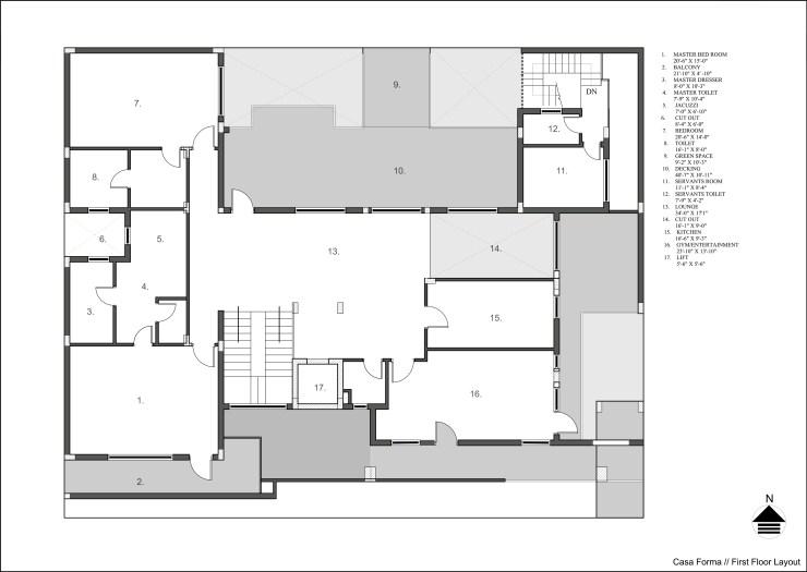 Casa Forma at Haldwani, Uttarakhand, byRenesa Architecture Design Interiors 50