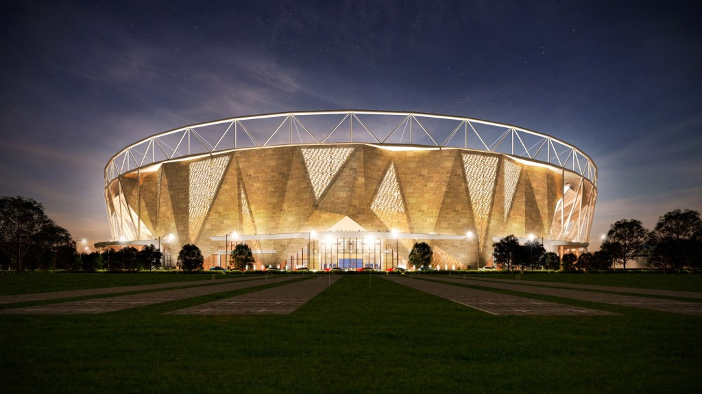 India is buidling world's largest cricket stadium in Motera, Gujarat 1