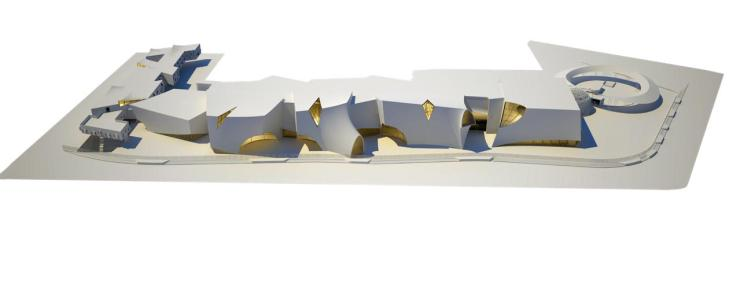 Shortlisted Competition Entry: National War Museum at New Delhi, by Collaborative Architecture 12