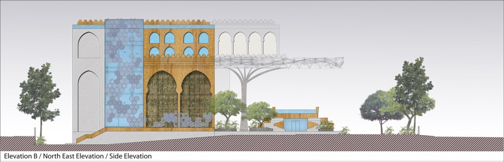 Competition Entry: Proposal for Redevelopment of Rajasthan House, 2018, by Intrigue Designs 5